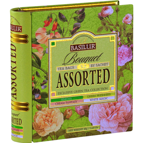 Tea Book - Bouquet Assorted